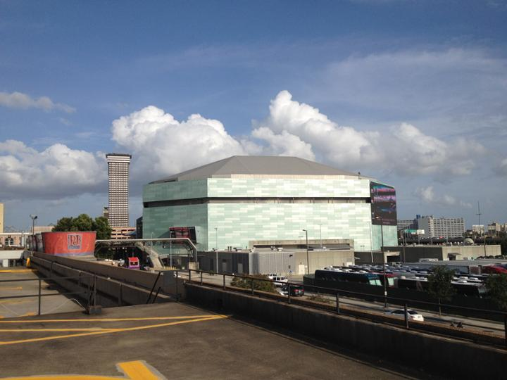New Orleans Sports Arena Carriere Stumm Construction